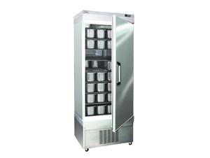 Eislagerschrank TEKNA 5010 NFN:     Abmessungen: B 670/ T 890/ H1950    Fassungsvermögen/Inhalt: 48 Eiss