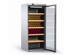 Weinkühlschrank SAGI F40EV:     Abmessungen: B700/ T630/ H1640    Fassungsvermögen/Inhalt: 400 Liter