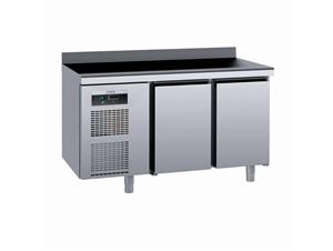 Kühlpult SAGI KUEAA 140cm:     Abmessungen: B 1400/ T 700/ H 985    Aufteilung Türen/Laden: 2 Türen