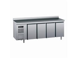 Kühlpult SAGI KUECA 230cm:     Abmessungen: B 2300/ T 700/ H 985    Aufteilung Türen/Laden: 4Türen