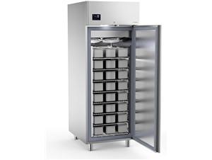 Eislagerschrank SAGI KICE:     Abmessungen: B 750/ T 900/ H 2040    Fassungsvermögen/Inhalt: 48 Eis