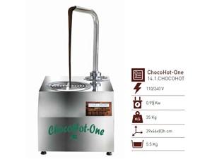 Schokoladebrunnen Chocohot One:   ChocoHot ist eine Schokoladenformmaschine, die auf einem Gestell positionier