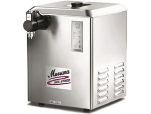 Sahnemaschine MUSSANA Grande:     Abmessungen: B 390/ T 370/ H 510    Fassungsvermögen/Inhalt: 12 Lite