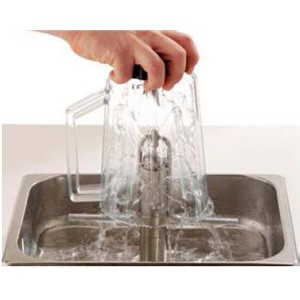 Behälter- und Gläserduschen