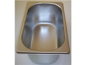 Eiswannen INOX:     Abmessungen:     Fassungsvermögen/Inhalt: 4,75L (260x157x17H)