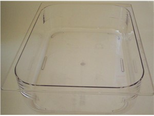 Eiswannen PVC:     Abmessungen:     Fassungsvermögen/Inhalt: 5L breit (360x250x80H)