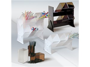 """Universalbehälter """"Cubo"""":        2 Farben:braun,weiß    In einfacher, oder doppelte Ausführung erhä"""